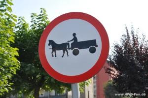 Andere Länder, andere Verkehrszeichen