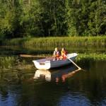Vom Peipsijärv zum Fluss Ahja (3. August)