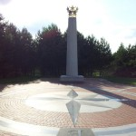 Über den geographischen Mittelpunkt Europas zurück nach Litauen (5. August)