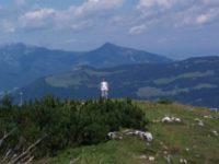 Gipfelsturm mit nassem Ende (18. August)
