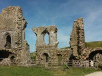 Swanage, die Old Harry Rocks und Corfe Castel (13. August)