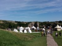 Swanage, die Old Harry Rocks und Corfe Castel (13. August)