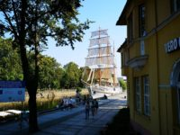 Letzter Sonnenschein in Klaipeda (17. August)